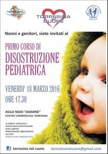 Torresina nel Cuore Corso Gratuito Disostruzione Pediatrica